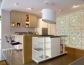 Cucina ad isola Area22 xl 30° gola Dibiesse con uno sconto vantaggioso