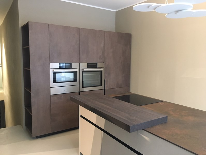 Cucina ad isola At home cube Elmar cucine con un ribasso del 50%