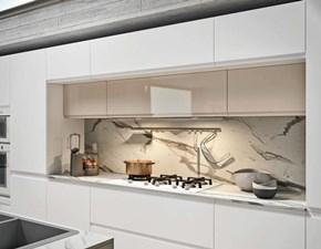 Cucina ad isola design Isola  white design minimal Nuovi mondi cucine a prezzo scontato