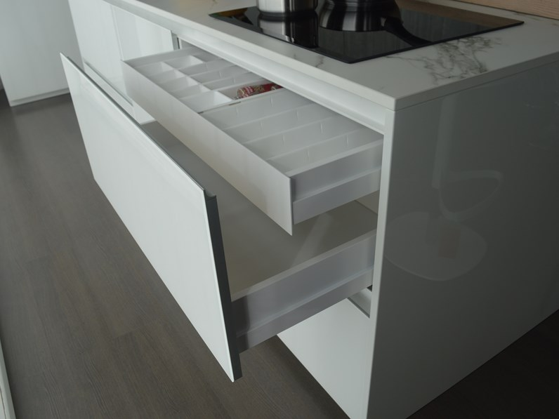 Cucina ad isola Doimo Cucine in offerta outlet