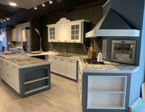 Cucina ad isola in laccato opaco altri colori Sandy  a prezzo scontato