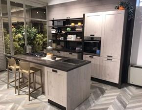 Cucina ad isola Kira vintage Creo kitchens con un ribasso vantaggioso