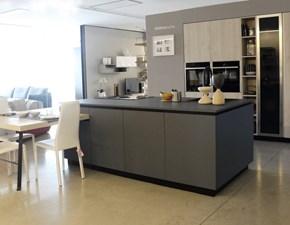 Cucina ad isola Materia in fenix Doimo cucine con uno sconto vantaggioso