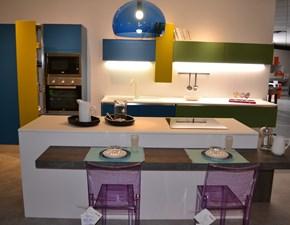 Cucina ad isola moderna Blues La casa moderna a prezzo scontato