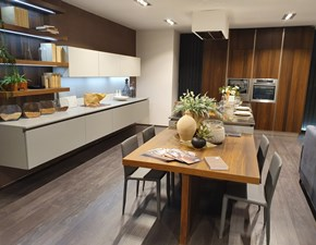 Cucina ad isola moderna Clover Lube cucine a prezzo scontato