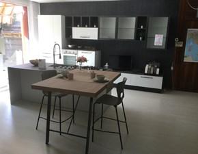 Cucina ad isola moderna Ice Febal a prezzo scontato