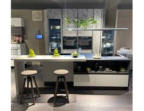 Cucina ad isola moderna Immagina plus lux Lube cucine a prezzo ribassato
