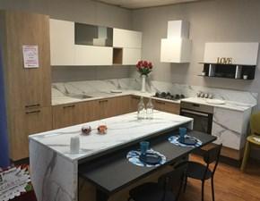 Cucina ad isola moderna Lungomare Artec a prezzo ribassato