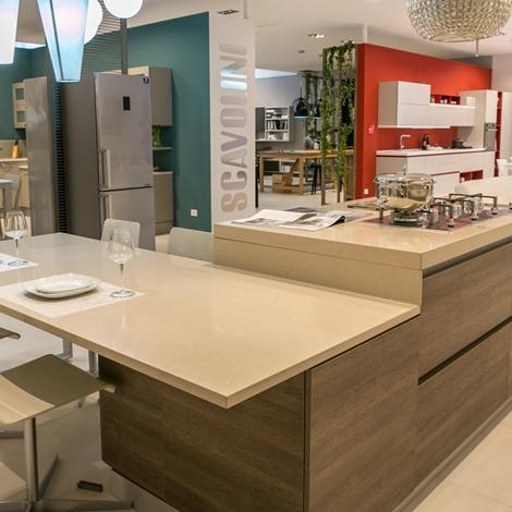 Cucina ad isola Scavolini modello Liberamente scontata del 44 ...