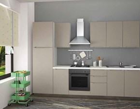 Cucina Aerre cucine moderna lineare altri colori in polimerico opaco Smile
