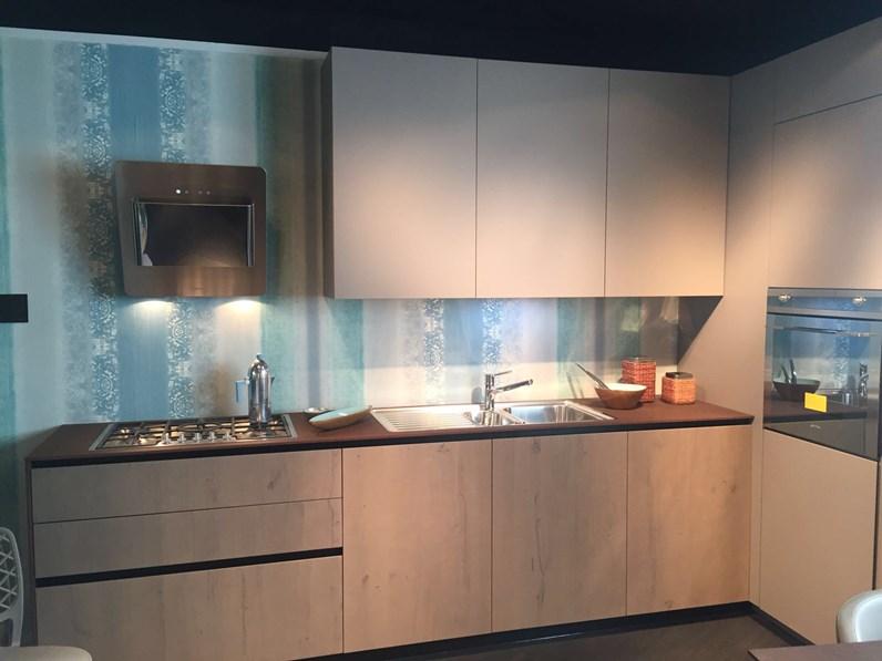 Cucina AK 04 Arrital in occasione al 53% moderna laccato e legno ...