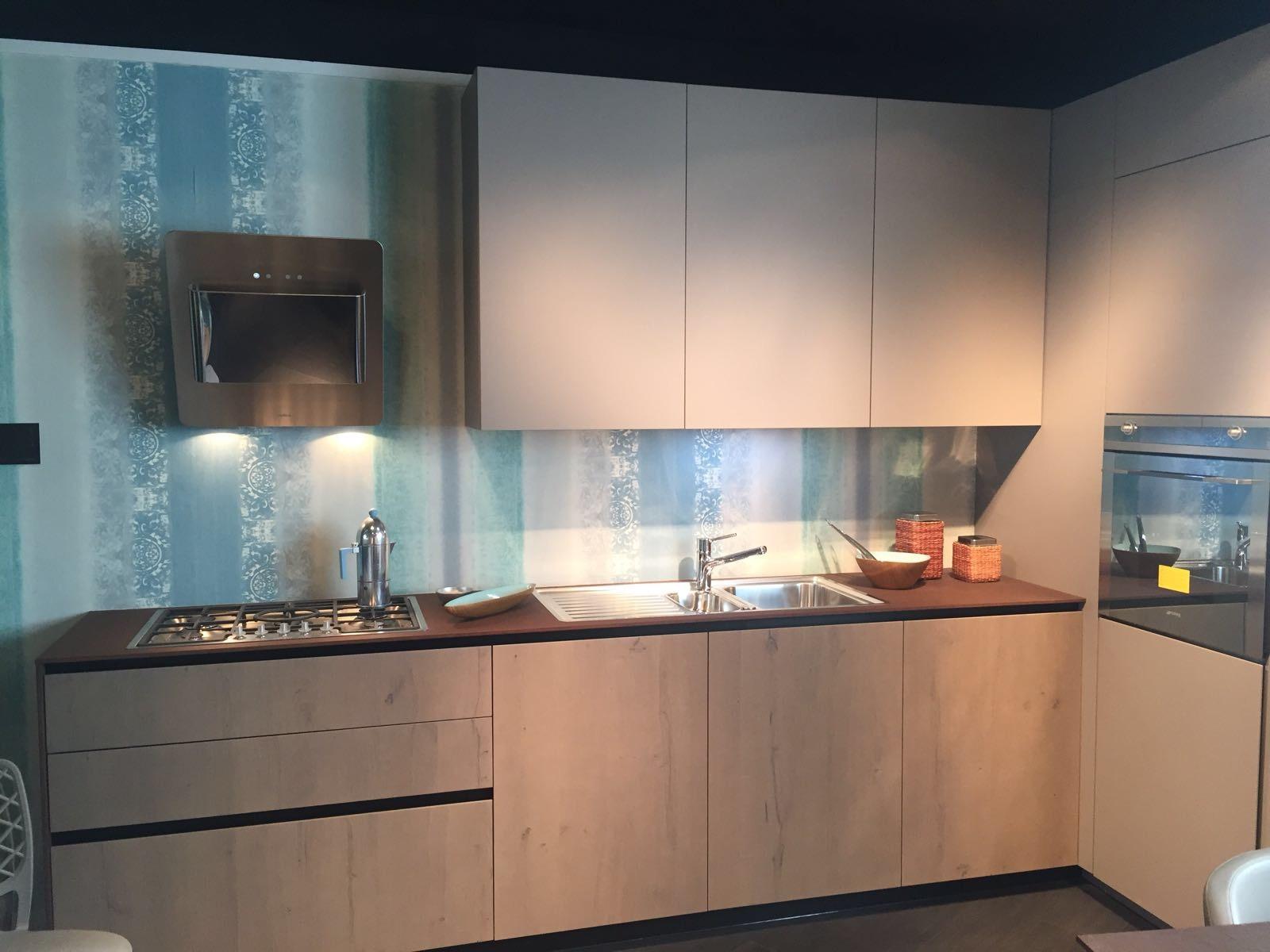 Cucina ak 04 arrital in occasione al 53 moderna laccato e - Cucina bianca e legno naturale ...