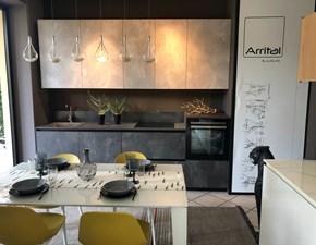 Cucina Ak_project moderna grigio lineare Arrital cucine
