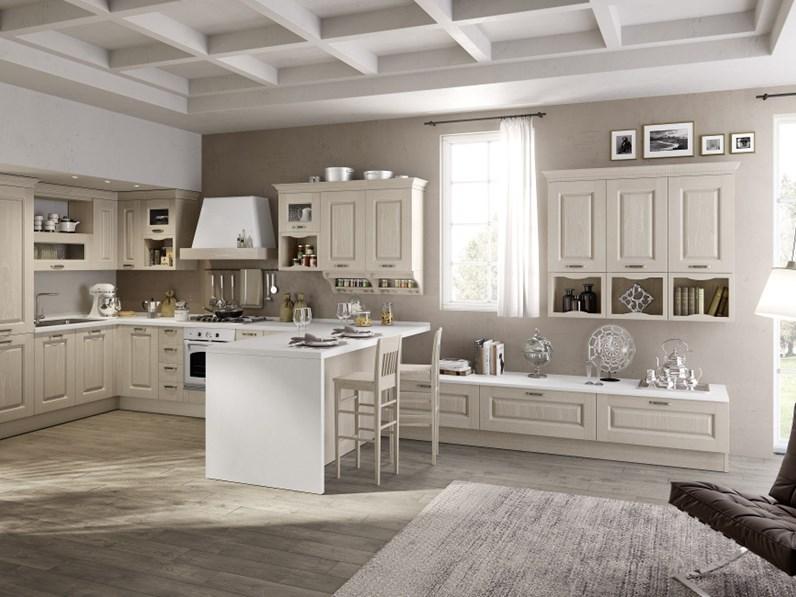 Ala Cucine Cucina Carlotta versione canapa gessato scontato del ...