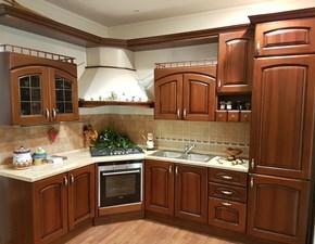 Cucina Ala cucine classica ad angolo noce in legno Elena