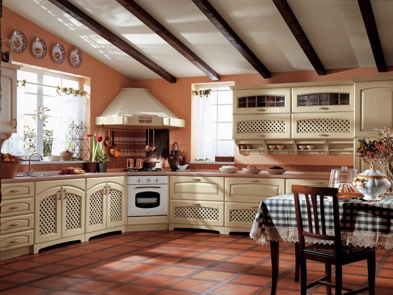Ala Cucine Cucina Elena versione decapè avorio scontato del -30 ...