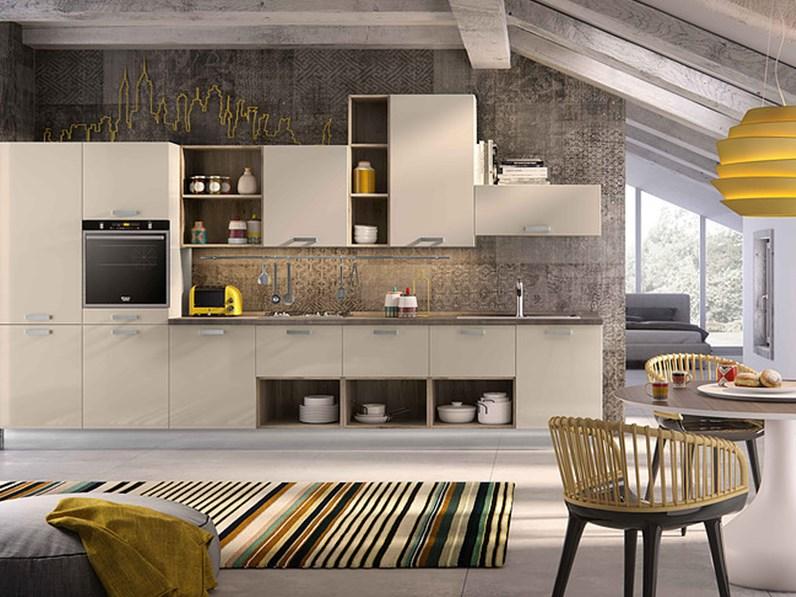 Cucina ala cucine gold di ala cucine laccato lucido colore - Cucine color avorio ...
