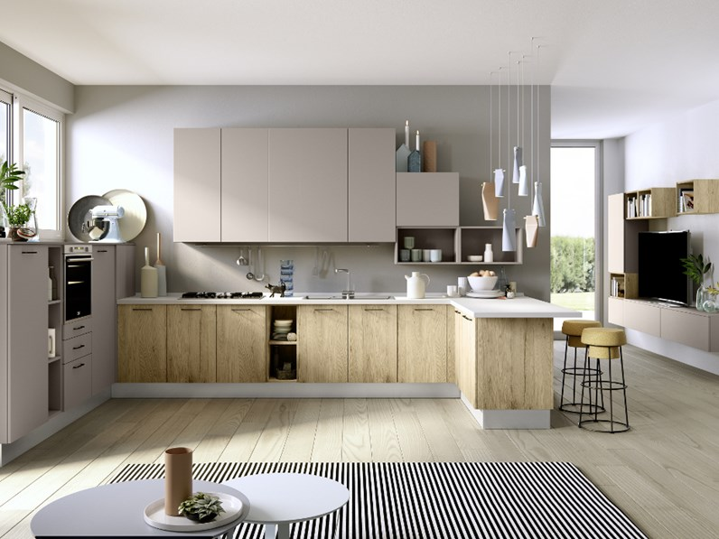 Ala cucine moderne simple kitchen design tosca by ala for Ala arredamenti