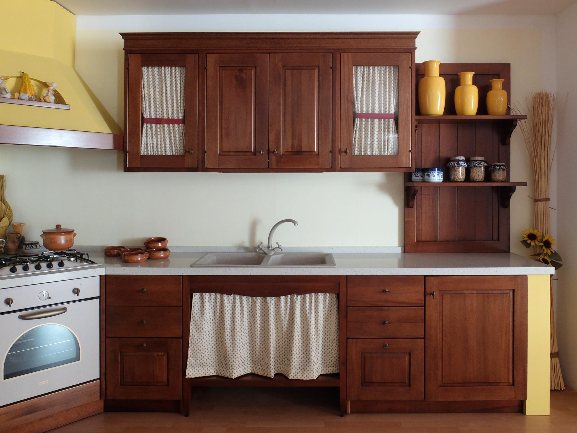 Awesome Tendine Per Cucina In Muratura Gallery - Design & Ideas ...