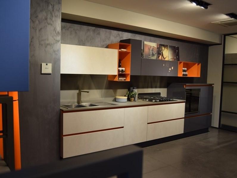 Cucina aleve 39 moderna altri colori lineare stosa cucine - Colori cucina moderna ...