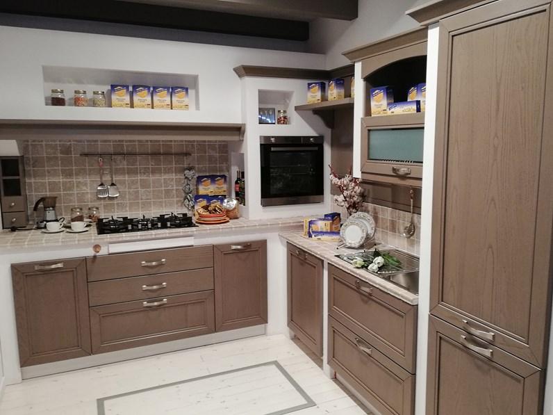 Cucina alice piano in sasso botticino prezzo outlet for 2000 arredamenti