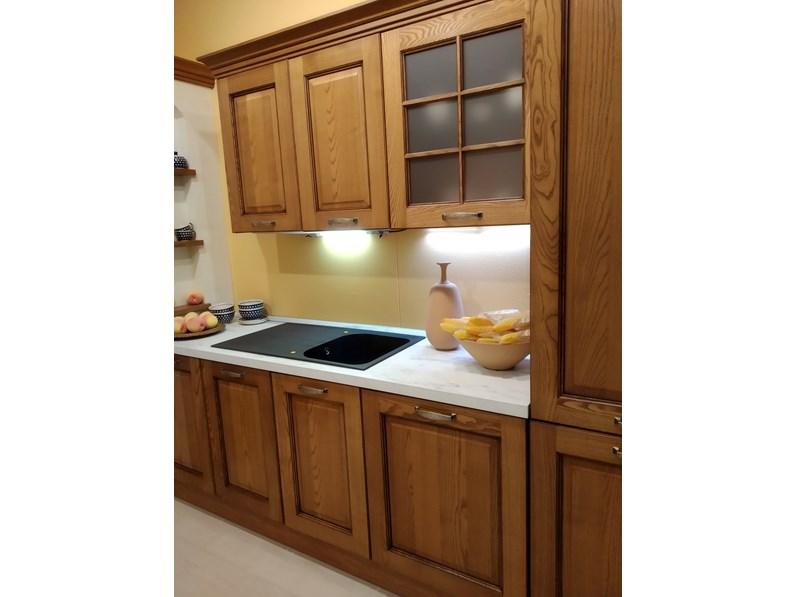 Cucina altri colori classica ad angolo elena cucine esse in offerta outlet - In cucina con elena ...