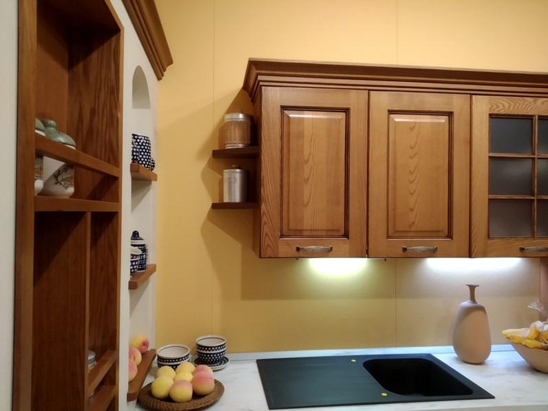 Cucina altri colori classica ad angolo Elena Cucine esse in Offerta Outlet