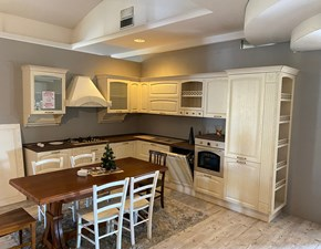 Cucina altri colori classica ad angolo Mida Artec in Offerta Outlet