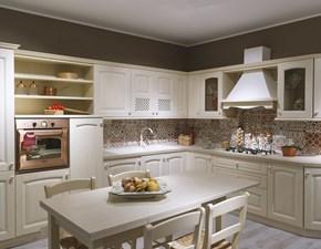 Cucina altri colori classica ad angolo Provenza Forma 2000 in Offerta Outlet