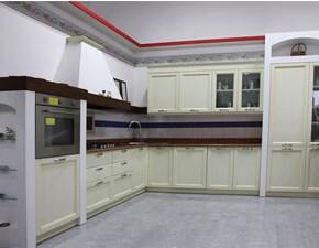 Cucina altri colori classica ad angolo U802 greca  Artigianale in Offerta Outlet