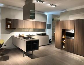 Cucina altri colori design ad angolo Filo lain 33 Euromobil in Offerta Outlet