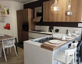 Cucina altri colori design ad angolo Kalì Arredo3 in Offerta Outlet