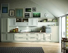 Cucina altri colori design lineare Alba Essebi cucine in Offerta Outlet