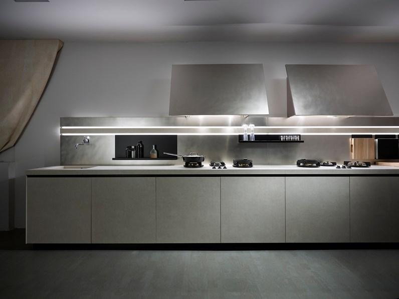 Cucina design lineare Easy gres di Elmar cucine scontata - Cucine ...