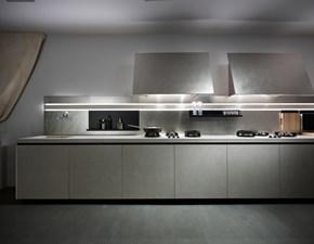 Cucina design lineare Easy gres di Elmar cucine scontata
