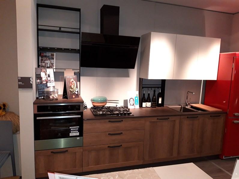 Cucina altri colori design lineare Sax Scavolini in Offerta Outlet