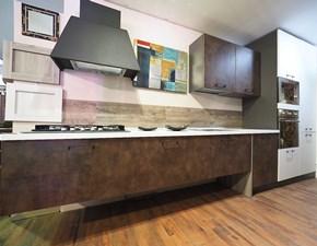 Cucina altri colori industriale lineare Cucina bronzo moderna  Nuovi mondi cucine in Offerta Outlet