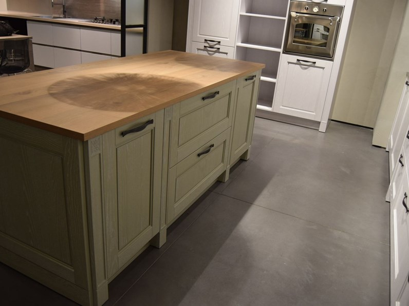 Cucina altri colori inglese ad isola Virginia Stosa cucine in Offerta Outlet