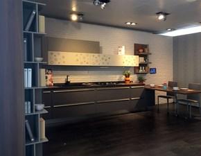 Cucina altri colori moderna ad angolo Clover bridge Lube cucine in Offerta Outlet