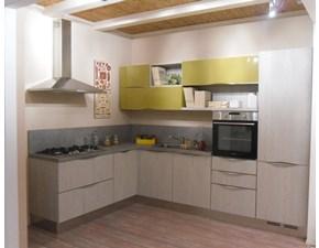Cucina moderna ad angolo Comp 1 Arredo3 in offerta
