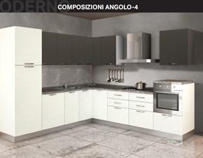 Cucina altri colori moderna ad angolo Composizione ad angolo 4 Arrex