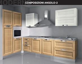 Cucina altri colori moderna ad angolo Composizione angolo 2 Arrex