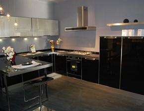 Cucina altri colori moderna ad angolo Glamour  Berloni cucine in Offerta Outlet