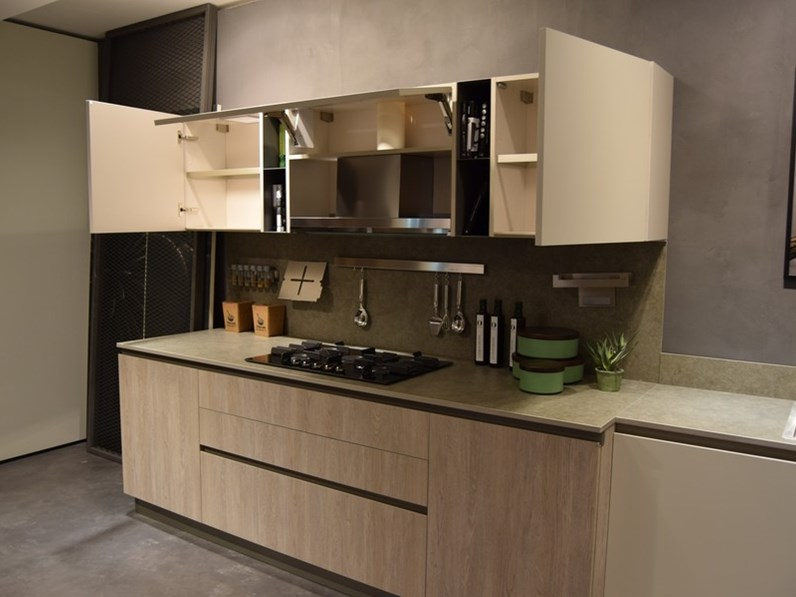 Cucina altri colori moderna ad angolo infinity stosa cucine in offerta outlet - Colori cucina moderna ...