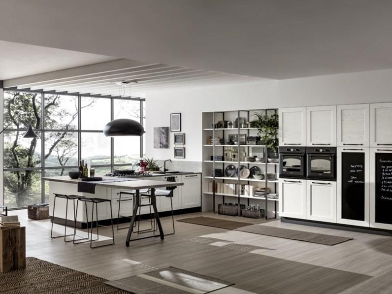 Cucina altri colori moderna ad angolo kali arrex scontata - Colori cucina moderna ...