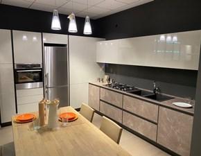 Cucina altri colori moderna ad angolo Kronos Arredo3 in Offerta Outlet