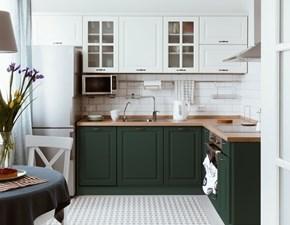 Cucina altri colori moderna ad angolo Mobilike ivy Artigianale