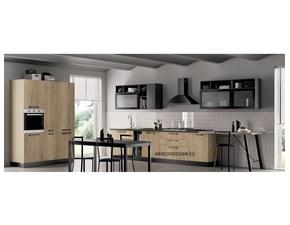 Cucina altri colori moderna ad angolo Pd02 * Artigianale
