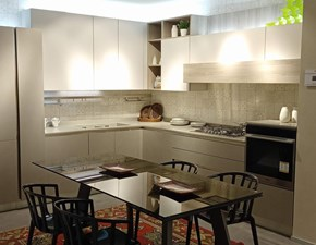 Cucina altri colori moderna ad angolo Start time go 19 Veneta cucine