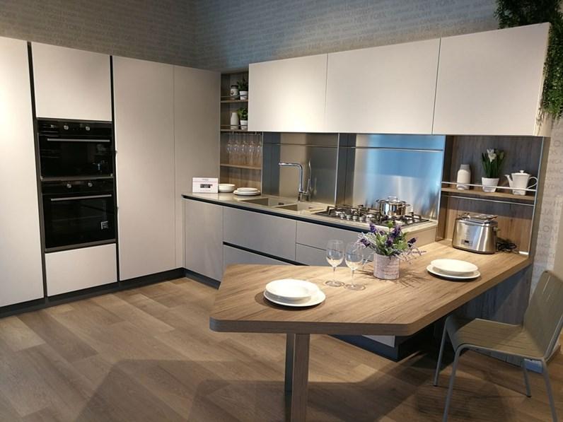 Cucina Altri Colori Moderna Ad Angolo Start Time J Veneta Cucine In Offerta Outlet